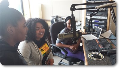 Social Justice Fellows on KMOJ